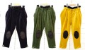 【frankygrowフランキーグロウ】BT-204/BOXPLEATS WOODY CORDUROY PANTS -BEAR MT KNEE PATCH
