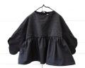 【frankygrowフランキーグロウ】CS-301/DOUBLE CIRCLE GATHER DRESS -BEAR MT