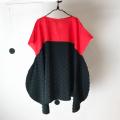 【frankygrowフランキーグロウ】OP-097/2TONE SEMICIRCLE DRESS