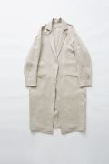 【eLfinFolk】elf-191F56 herringbone linen long coat