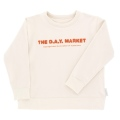 【tinycottons】AW18-091_B25/the day market graphic sweatshirt/beige*red