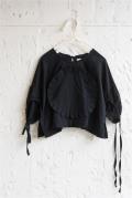【UNIONINI】BL-016 [SO THAT]/organic frill blouse/レディース