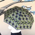 【frankygrowフランキーグロウ】槙田商店×frankgrow fusion 雨傘 リボン/ネイビー