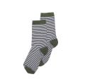 【MINGO.】 MI1800747A2/ Socks/ Striped*duck green