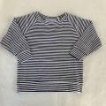 【MINGO.】 MI1800312A2/long sleeve/ B*W stripes