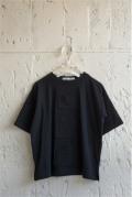 【UNIONINI】CS-043/many pockets tee/black/1-2y〜レディース