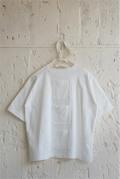 【UNIONINI】CS-043/many pockets tee/white/1-2y〜レディース