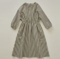 【eLfinFolk】stripe linen dress