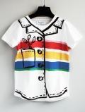 【WOLF & RITA×JCC17ss】SEBASTIAO - T-Shirt/TROMP D'OEIL