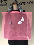 【frankygrowフランキーグロウ】限定arereマンガ目つきチュールスケスケbag/ピンク