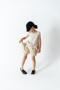【frankygrowフランキーグロウ】19SBT-220/RHOMBOS DENIM SHORT PANTS