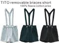 【LE PETIT GERMAIN】TITO  Brace shorts