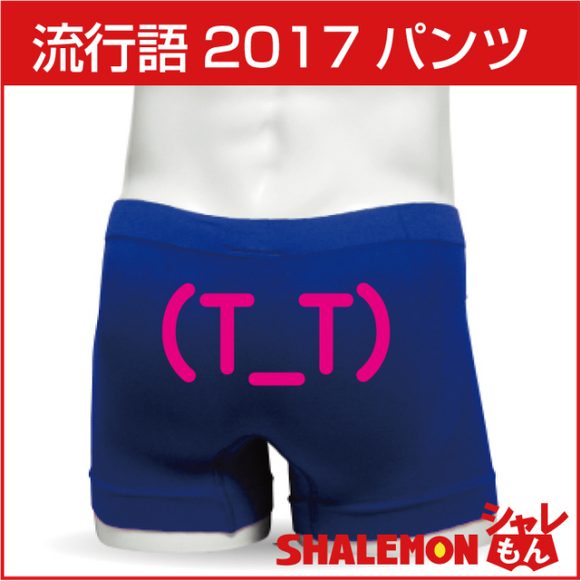 流行語 2017年 ボクサーパンツ 【TTポーズ】