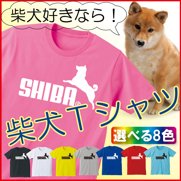 Tシャツ柴犬