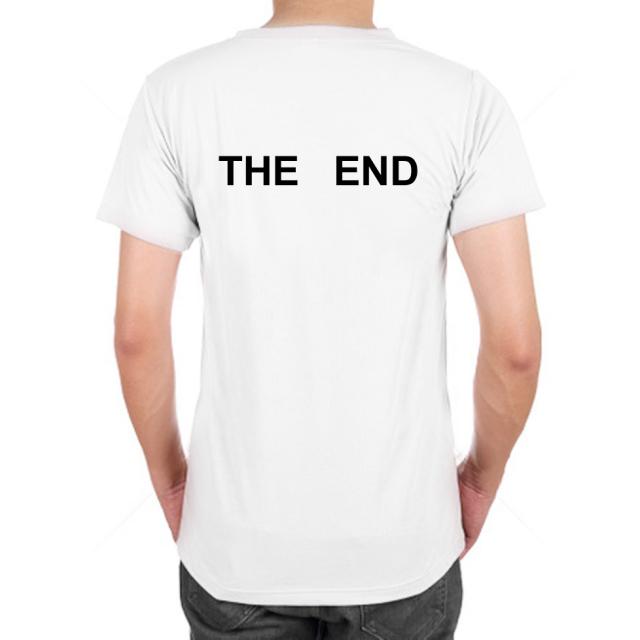 おもしろ Tシャツシャツ 【the end】【Tシャツ】菅田将暉 嵐