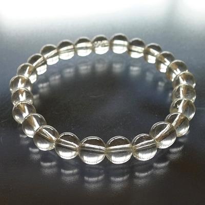 ヒマラヤ水晶ブレスレットクリア001