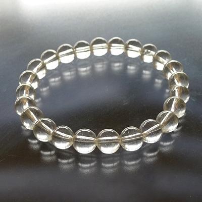 ヒマラヤ水晶ブレスレットクリア002