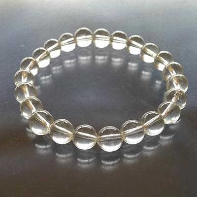 ヒマラヤ水晶ブレスレットクリア004