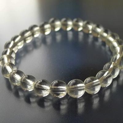 ヒマラヤ水晶ブレスレットクリア005
