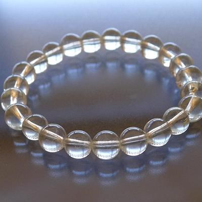 ヒマラヤ水晶ブレスレットクリア010
