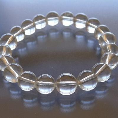 ヒマラヤ水晶ブレスレットクリア011