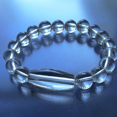 ヒマラヤ水晶ブレスレットクリア013