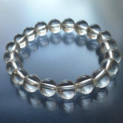 ヒマラヤ水晶ブレスレットクリア015