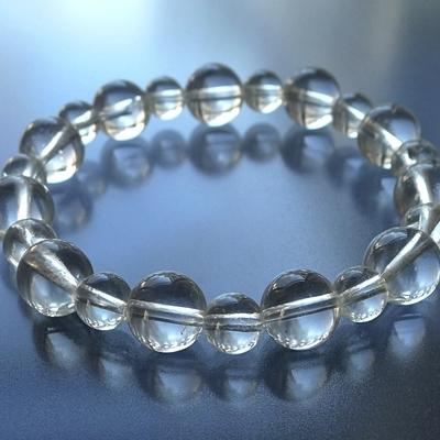 ヒマラヤ水晶ブレスレットクリア016