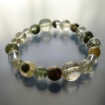 ヒマラヤ水晶ブレスレット内包物001