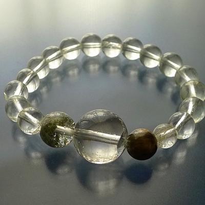 ヒマラヤ水晶ブレスレット内包物002