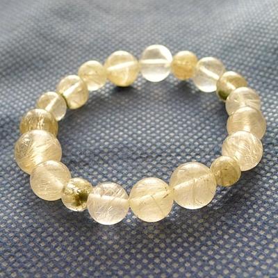 ヒマラヤ水晶ブレスレット内包物003
