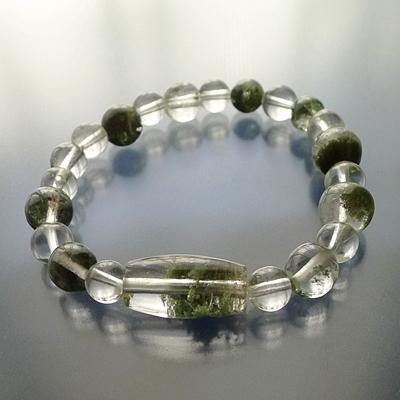 ヒマラヤ水晶ブレスレット内包物004