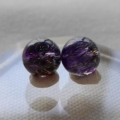 ビーズ粒売りスーパーセブン紫017