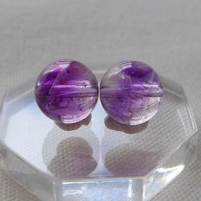 ビーズ粒売りスーパーセブン紫020