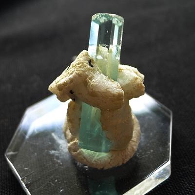 ヒマラヤ産アクアマリン原石標本販売004