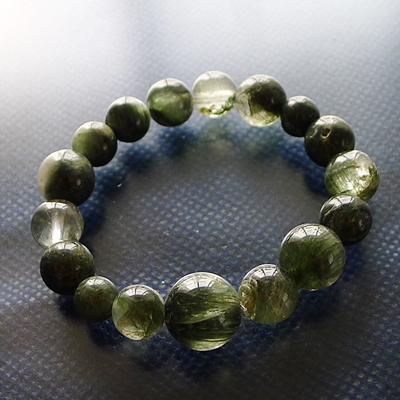 ガレージセール045 ヒマラヤ水晶ブレスレット