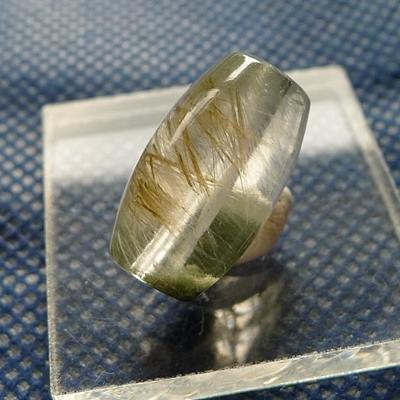 ヒマラヤ水晶ビーズ粒売り012 典型的ヒマラヤ水晶天珠型