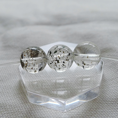 ビーズ粒売りヒマラヤ水晶020