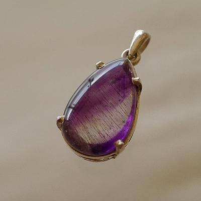 スーパーセブン紫シルバーペンダント005