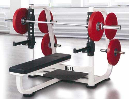 【受注生産品】【オリンピックベンチ】BULL オリンピック スパイン ベンチEX BL-OPBEX