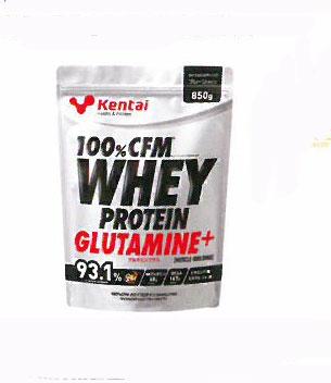 健康体力研究所(KENTAI)100%CFMホエイプロテイン グルタミンプラス マッスルブルディング 850g(プレーンタイプ)