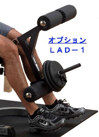 【レッグエクステンション&カール】 Bodysolid ボディソリッド レッグエクステンション&カールアタッチメント(GFID-31用) LAD-1