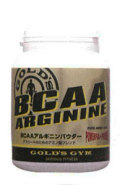 GOLD'S GYM  BCAAアルギニンパウダー250g