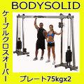 【動画参照】【予約販売:納期約4ヶ月】Bodysolid ボディソリッド ケーブルクロスオーバー GDCC250