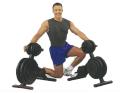 【プレートラック】【オリンピックプレート】 Bodysolid ボディソリッド Φ50mmオリンピックウエイトツリー&バーホルダー  OWT29
