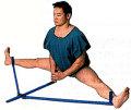 【自宅 トレーニング】股割レッグストレッチャー LS−205