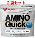 【アミノ酸 サプリメント】健康体力研究所(KENTAI)ケンタイ アミノクイック450g (お買い得2個セット)