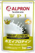 アルプロン WPIホエイプロテイン 3kg  プレーン味 、タンパク質含有量約90%以上のプロテイン (お徳用3kgx2袋)