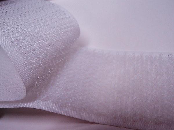 ニューエコマジック糊無し(縫製タイプ) A8693Y-71×B2790Y-00 (20mm×25m) フック・ループ 1セット 白色