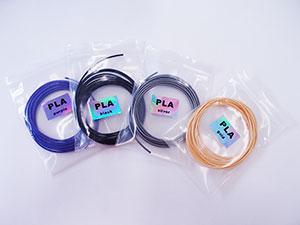 3Dsimoフィラメント PLAパッケージ 各色2.5m